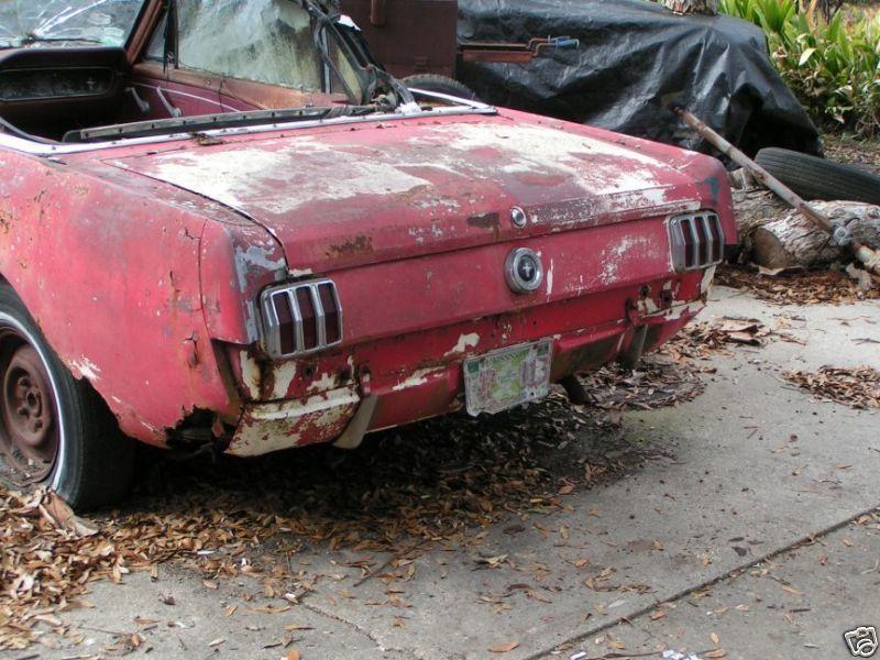 1965 Mustang Convertible | RustingMuscleCars.com