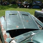 1968 Mustang Fastback Rusted in Half 003