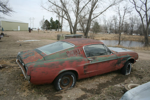 1967 Ford Mustang Fastback Project for Sale
