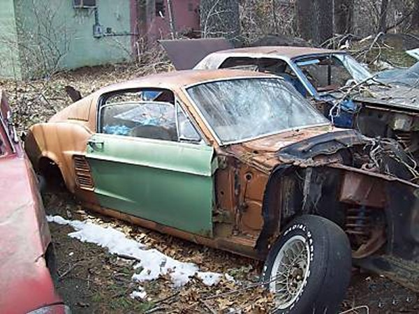 Craigslist Ohio 1967 Ford Mustang Project | Autos Post