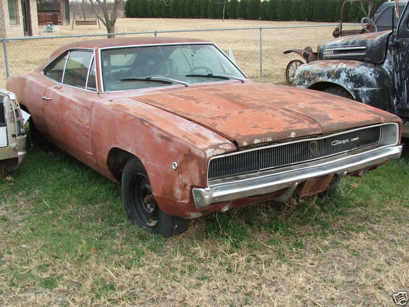 1968 Dodge Charger | RustingMuscleCars.com
