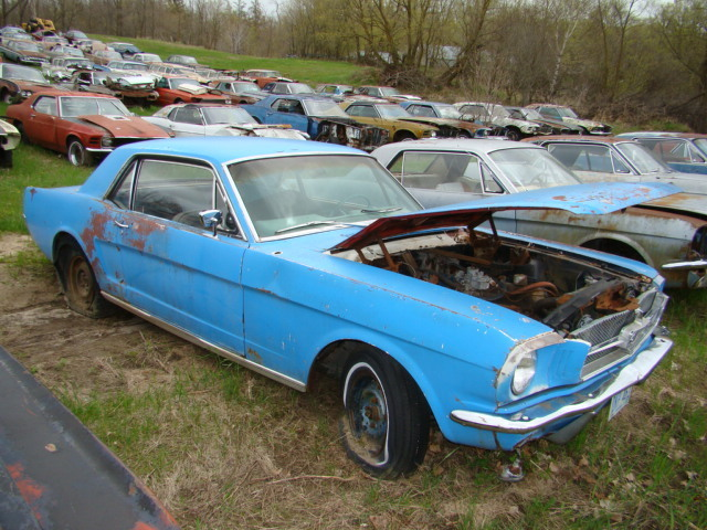 Wrecked Muscle Cars For Sale | Autos Weblog
