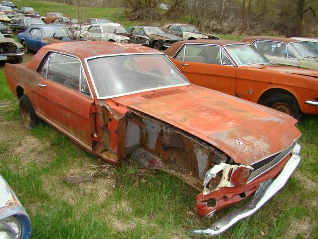 Own a Mustang Junk Yard  RustingMuscleCarscom