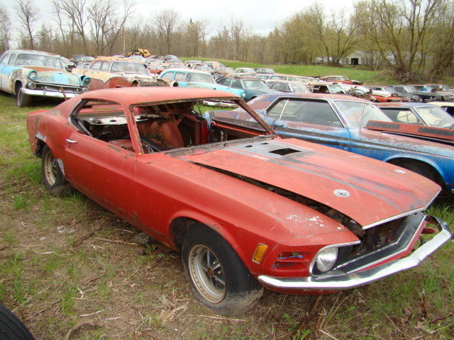 Rustingmusclecars Com Blog Archive Own A Mustang Junk Yard