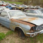 Huge Mustang Junk Yard for Sale 15