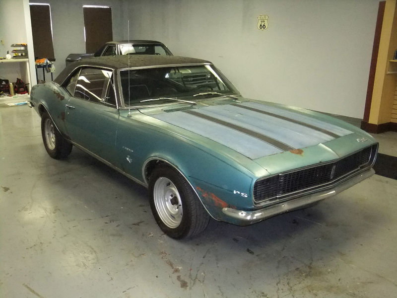 Rustingmusclecars Com 187 Blog Archive 187 1967 Rs Camaro Barn
