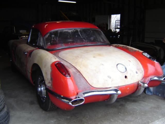 RustingMuscleCars.com » Blog Archive » 1959 Corvette For Sale