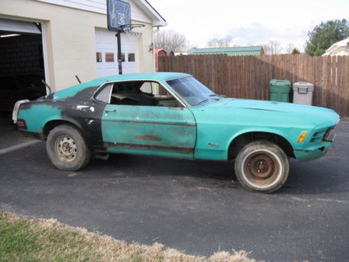 1970 Mustang Grabber Green