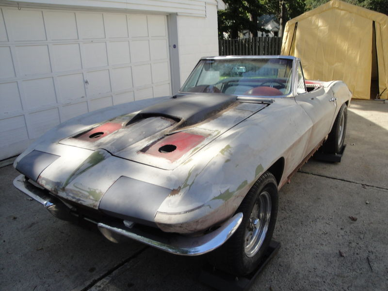 1964 Corvette Barn Find | RustingMuscleCars.com