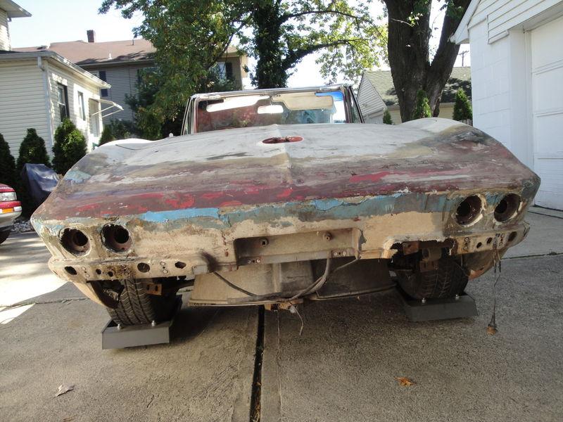 1964 Corvette Barn Find | RustingMuscleCars.com