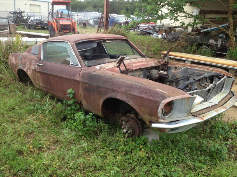 Rustingmusclecars Com 187 Blog Archive 187 1968 Mustang
