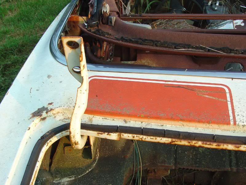 1969 Camaro Pace Car Shell Rustingmusclecars Com