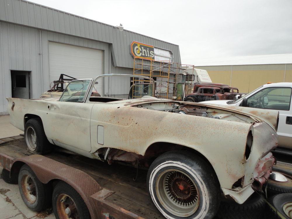 1957 Thunderbird Hotrod Project | RustingMuscleCars.com