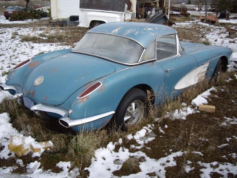 Rustingmusclecars Com Blog Archive 1959 Corvette