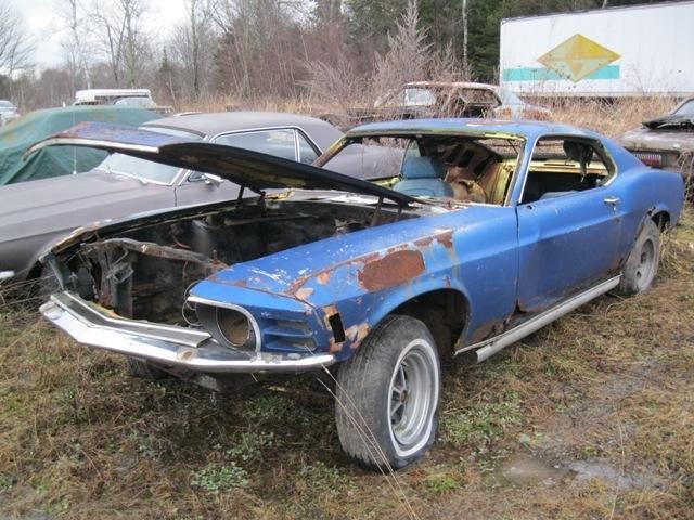 1970 Boss 302 Mustang Project Rustingmusclecars Com